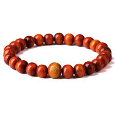 red prayer bead bracelet images Nyuki new fashion bracelets red wood beads buddha meditation for jpg