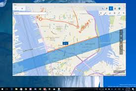 World Map App by How To Use Windows Ink On The Maps App On Windows 10 Windows Central