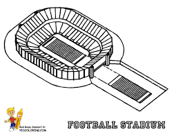 football field coloring pages funycoloring