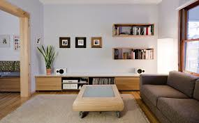 living room wall shelves wall mounted box shelves a trendy variation on open shelves