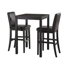 dining room square black stained mahogany wood dining table with