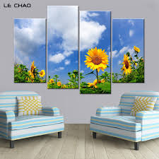 art painting for home decoration online buy wholesale sunflower art prints from china sunflower art