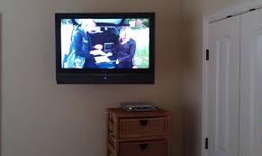 Bedroom Tv Wall Mount Height Tv Installations Unisen Media Llc