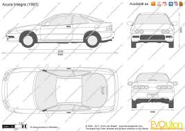 acura integra outline on acura images tractor service and repair
