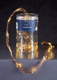 wire string christmas lights 1 4m u2013 matalan