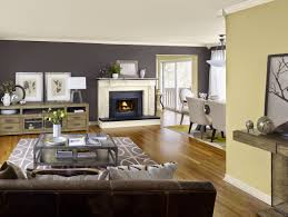 Gray And Yellow Living Room by Warm Gray Paint Color For Living Room Living Room Decoration
