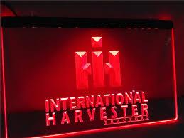 Neon Sign Home Decor Online Get Cheap International Tractor Signs Aliexpress Com
