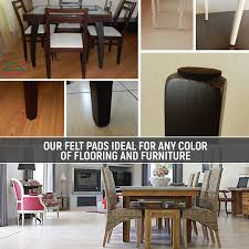 Furniture Pads For Laminate Floors Felt Pads For Chairs Slide Off Home Chair Decoration