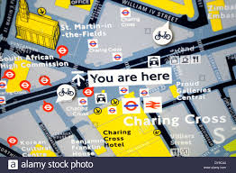 Map Of London England by Map Of London Streets Stock Photos U0026 Map Of London Streets Stock