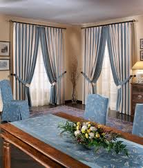 dining room curtains ideas antoinette buffet candleholders plants