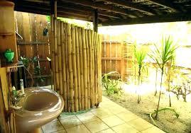 outdoor bathrooms ideas outdoor pool bathroom ideas semi outdoor bathroom pool home interior