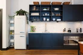Vintage Blue Cabinets Apartments Modern Vintage Kitchen Ideas With Black Kitchen