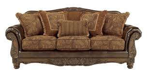 Vintage Living Room Sets by Fresco Durablend Traditional Antique Fabric Sofa Living Rooms
