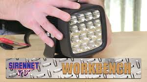 work zone rechargeable led work light soundoff 3000 lumen led work light youtube