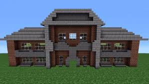 minecraft brick house ideas