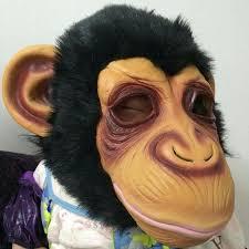 Gorilla Halloween Costume 1 Pc Diamond Big Ears Monkey Mask Gorilla Costumes Movie Monkey