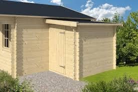 45mm log cabin storage annexe 1 6x3m