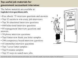 Resume Government Jobs by Government Accountant Interview Questions