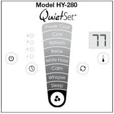 honeywell hy 280 quietset whole room tower fan the honeywell hy 280 quietset whole room tower fan black