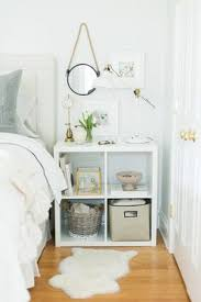 Ikea White Nightstand Store Everything Under Or In Your Nightstand U2014 Not On Top Of It
