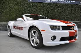 2011 chevrolet camaro ss donald to drive 2011 chevrolet camaro ss indy 500 pace car