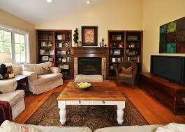 Livingroom Fireplace by Contemporary Living Room Decor With Fireplace And Tv Impressive In