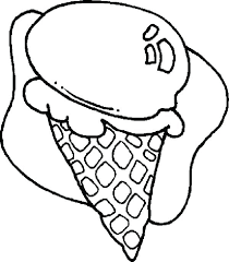 coloring pages ice cream cone coloring pages ice cream double scoop ice cream cone coloring cute