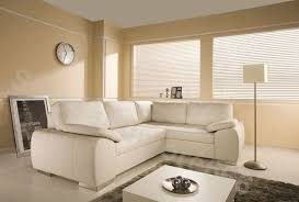 BRAND NEW ENZO CORNER SOFA BED WITH STORAGE BLACK BROWN CREAM FAUX - Cream leather sofas