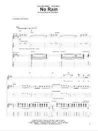 Blind Melon Rain Lyrics No Rain By Blind Melon Guitar Tab Guitar Instructor