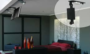 tv a soffitto staffe e supporti motorizzati per televisori e monitor