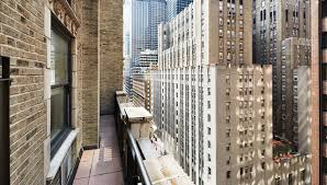 luxury hotel in nyc with balcony balcony suite the benjamin