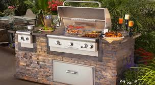 the firehouse beautiful outdoor kitchen built in grills texas