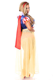 White Corset Halloween Costumes Snow White Corset Costume Size 6x