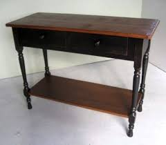 Black Console Table Farmhouse Console Tables