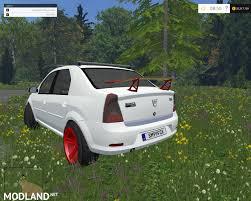 renault logan 2015 dacia logan tuning v8 mod for farming simulator 2015 15 fs ls