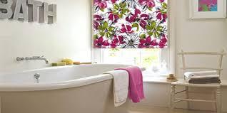 bathroom blind ideas patterned bathroom blinds for added pizzazz blinds