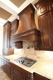 couto custom home stained cabinet finish sherwin williams latte on