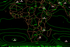 Night Sky Map Tonight New Cold Record For South Africa Weather Extremes