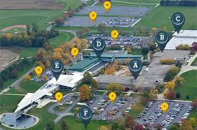 Ohio State Campus Map Piqua Campus Facility Map Edison State Community College