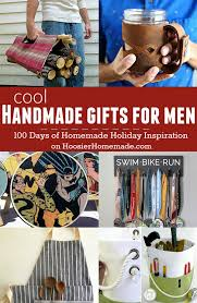 super cool handmade gifts for men holiday inspiration hoosier