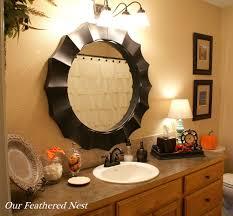 fall bathroom decorating ideas http pinterest com pin