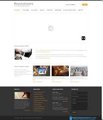 Copyright Html5 Revolutionary Simple And Clean Business Html5 Web Templates