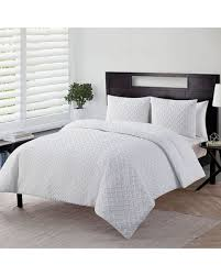 Down Alternative Comforter Sets Savings On Vcny Nina Embossed Down Alternative Comforter Set White