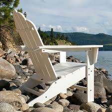 Poly Lumber Outdoor Furniture Polywood Long Island Adirondack Chair Long Island Polywood