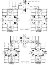 Garden Floor Plan Gardens Floorplan University Of Dayton Ohio