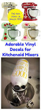 kitchenaid stand mixer black friday sale amazon adorable vinyl decals for kitchenaid mixers starting at only