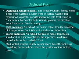 frontal boundary map meteorology gel ppt