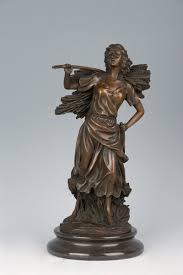 Home Decoration Statues Online Get Cheap Antique Bronze Statues For Sale Aliexpress Com