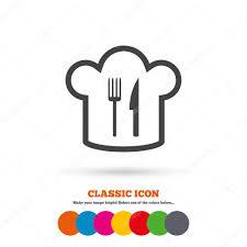 symbole cuisine toque symbole de la cuisine image vectorielle blankstock 81036844
