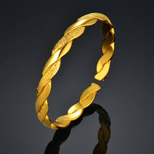 love bangle bracelet images Fashion simple bangles gold color for women cute baby gift love jpg